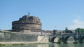 Castelo do anjo Roma de Saint imagem de stock