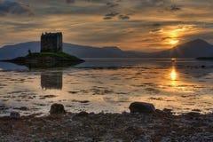 Castelo do assediador Imagens de Stock Royalty Free