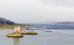 Castelo do assediador em Scotland Fotografia de Stock Royalty Free