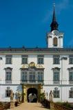 Castelo do baroque de Lysice. fotos de stock royalty free
