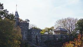 Castelo do Belvedere, Central Park imagem de stock royalty free