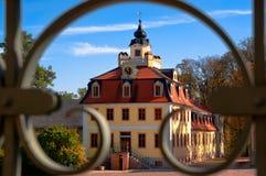 Castelo do Belvedere de Weimar, Thuringia, Alemanha fotografia de stock royalty free