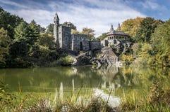 Castelo do Belvedere em Central Park Fotografia de Stock Royalty Free