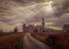 Castelo do bosque de Ducketts Fotografia de Stock Royalty Free