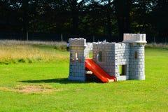Castelo do campo de jogos Fotos de Stock