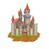 Castelo do conto de fadas Ilustração Stock