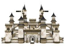 Castelo do conto de fadas ilustração royalty free