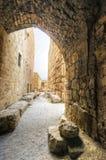 Castelo do cruzado, Byblos, Líbano imagem de stock royalty free
