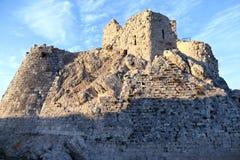 Castelo do cruzado de Beaufort fotos de stock