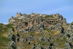 Castelo do cruzado de Beaufort, província de Nabatieh, Líbano Imagens de Stock