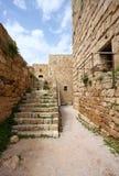 Castelo do cruzado de Byblos, Líbano Imagem de Stock
