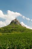 Castelo do ¡ de SpiÅ - ské Podhradie do ¡ de SpiÅ Imagem de Stock