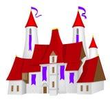 castelo do Fada-conto ilustração stock