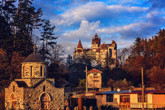 Castelo do farelo Fotografia de Stock Royalty Free