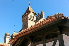 Castelo do farelo - castelo de Dracula s Foto de Stock