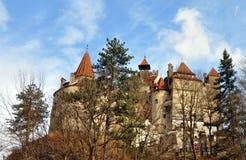 Castelo do farelo de Dracula fotos de stock royalty free