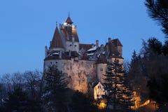 Castelo do farelo, residência de Dracula   fotos de stock royalty free