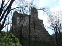 Castelo do farelo, a Transilvânia Fotografia de Stock Royalty Free