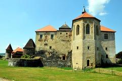 Castelo do hrad de Svihov, República Checa fotografia de stock