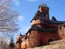 Castelo do inverno imagens de stock