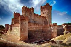 Castelo do La Mota um monumento nacional e mais recentemente como um local do interesse cultural Fotografia de Stock Royalty Free