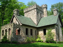 Castelo do latifundiário em Cleveland, Ohio, Metroparks Imagem de Stock Royalty Free