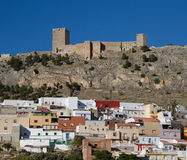Castelo do Moorish de Jae'n foto de stock royalty free