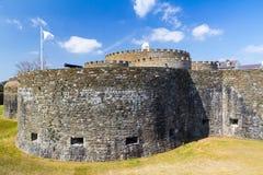 Castelo do negócio imagens de stock royalty free