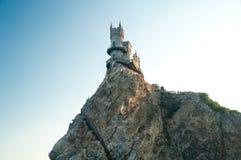 Castelo do ninho da andorinha Imagens de Stock