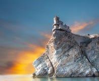 Castelo do ninho da andorinha Fotos de Stock