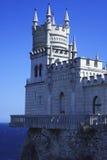 Castelo do ninho da andorinha Foto de Stock Royalty Free
