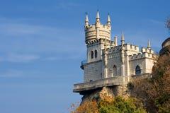 Castelo do ninho da andorinha imagem de stock royalty free