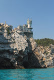 castelo do Pássaro-ninho Fotos de Stock