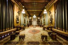 Castelo do palácio de Peles em Sinaia, Romênia imagem de stock royalty free