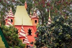Castelo do parque da água Imagem de Stock Royalty Free