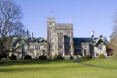 Castelo do parque de Hatley Fotografia de Stock Royalty Free