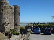 Castelo do porto de Rye imagens de stock royalty free