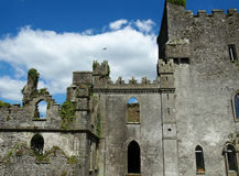 Castelo do pulo na Irlanda do condado de Offaly Fotos de Stock Royalty Free