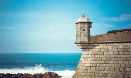 Castelo do Queijo by the Sea Royalty Free Stock Image