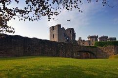 Castelo do Raglan Fotos de Stock Royalty Free