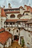 Castelo do ` s de Dracula do castelo do farelo em Brasov Imagem de Stock Royalty Free