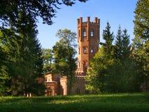 Castelo do tijolo vermelho foto de stock royalty free