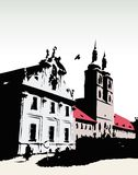 Castelo do vetor ilustração royalty free