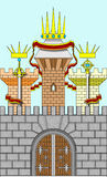 Castelo do vetor Fotografia de Stock Royalty Free