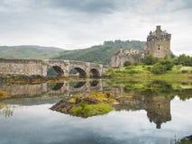 Castelo donan scotland de Eilean Fotografia de Stock