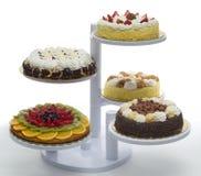 Castelo dos bolos Fotos de Stock Royalty Free