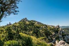 Castelo DOS Mouros Royaltyfria Bilder