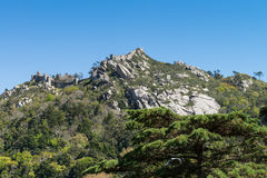 Castelo dos Mouros. Sintra, Portugal Royalty Free Stock Images