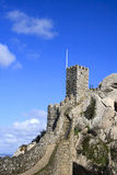Castelo dos Mouros. In Sintra, Portugal Stock Images