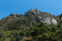 Castelo dos Mouros. Sintra, Portugal Royalty Free Stock Image